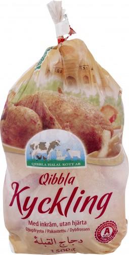 Qibbla kyckling imp. 10x1,5kg