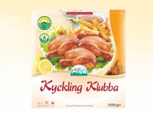 Kyckling klubba Qibbla fryst 5000g